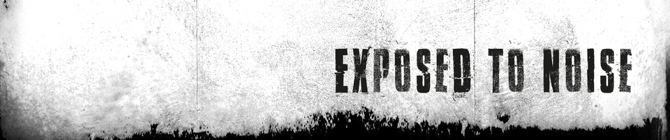EXPOSED TO NOISE Titelbild